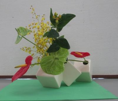 Ikebana natal15